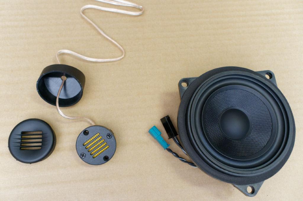 X1 Speaker Install